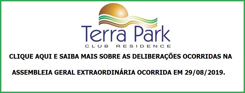 RESUMO DAS DELIBERAÇÕES DA ASSEMBLEIA GERAL EXTRAORDINÁRIA OCORRIDA NO DIA 29/08/2019