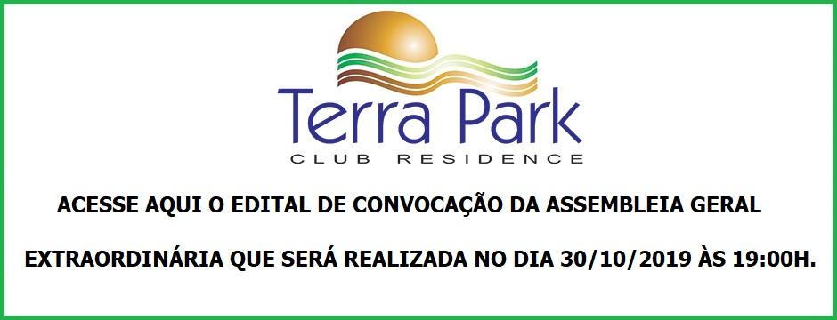 EDITAL DE CONVOCAÇÃO DA ASSEMBLEIA GERAL EXTRAORDINÁRIA A SER REALIZADA NO DIA 30/10/2019.