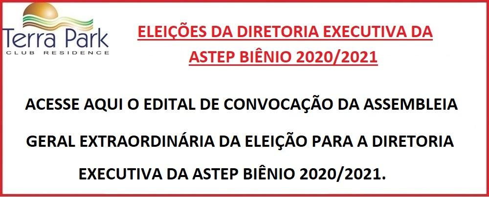 EDITAL DE CONVOCAÇÃO DA ASSEMBLEIA GERAL EXTRAORDINÁRIA A SER REALIZADA NO DIA 27/11/2019.
