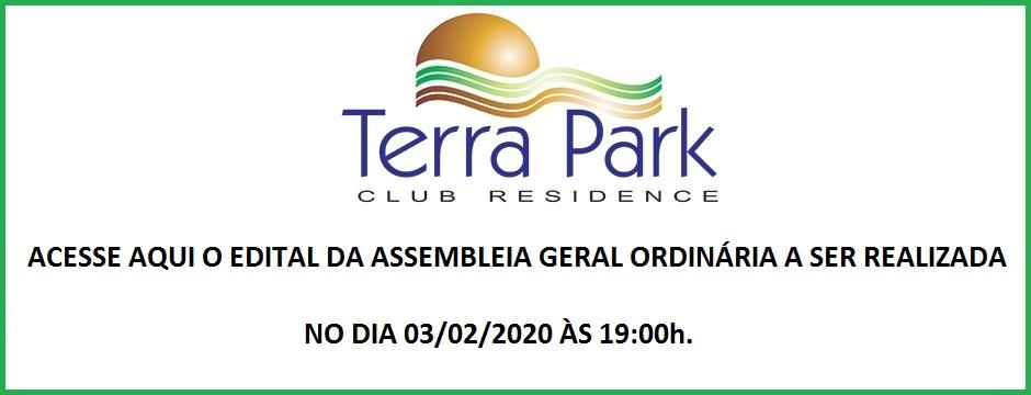 EDITAL DE CONVOCAÇÃO DE ASSEMBLEIA GERAL ORDINÁRIA A REALIZAR-SE NO DIA 03/02/2020.