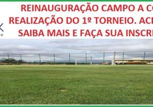 Reinauguração do Campo A e 1º Torneio de Futebol Society do Terra Park Club Residence